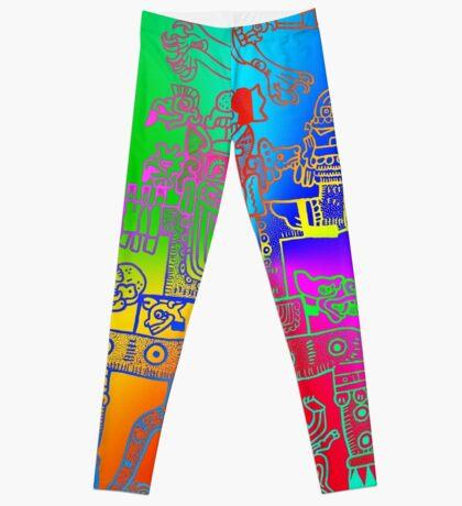 Xiuhtecuhtli, RGB Gods, Myths & Monsters Leggings