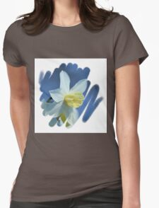 Pretty Daffodils Womens Fitted T-Shirt