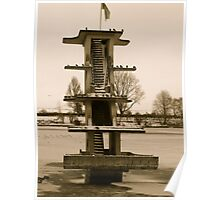 Coate Water Diving Board Poster