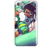 Cyan Inkling iPhone Case/Skin