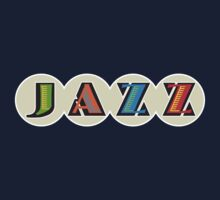 'JAZZ' lettering T-shirt by one-in-the-eye