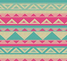 Cool fun triangle pattern  by ReadySteadyArt