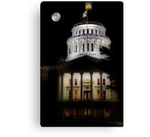 California State Capital Canvas Print