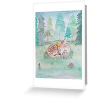 King of the Forest Greeting Card