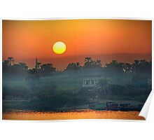 Sunset On The Nile Poster