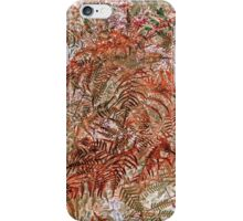 Ferns: Auburn Wild iPhone Case/Skin