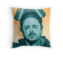 jesse we have to cook Throw Pillow