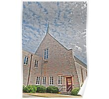 HDR - SSLC - Church and Sky Poster