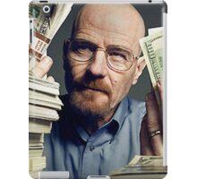 walter white gettin money iPad Case/Skin
