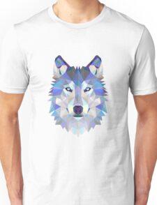 Geometric Wolf Unisex T-Shirt