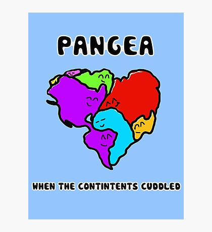 Pangea- the happy continent  Photographic Print