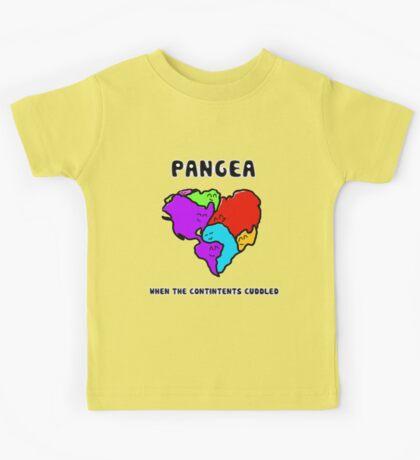 Pangea- the happy continent  Kids Tee