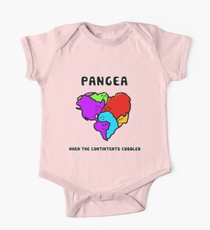 Pangea- the happy continent  One Piece - Short Sleeve