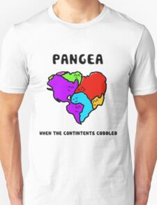 Pangea- the happy continent  Unisex T-Shirt