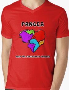 Pangea- the happy continent  Mens V-Neck T-Shirt