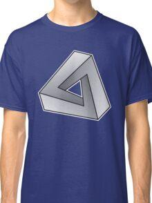 Mobius Triangle (Angular) Classic T-Shirt