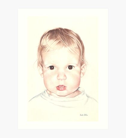 When He was Two Art Print
