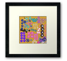 Sorting the Buttons Framed Print