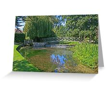 The River Piddle Greeting Card
