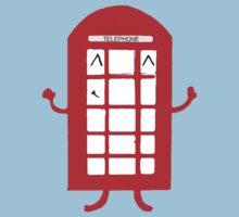 Cartoon Telephone Box Kids Tee