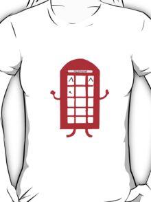 Cartoon Telephone Box T-Shirt