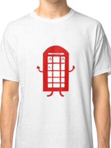 Cartoon Telephone Box Classic T-Shirt