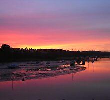 Sunrise in Penryn by PipCB