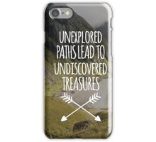 Unexplored Paths All-Over iPhone Case/Skin