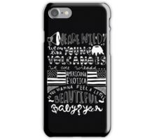Young Volcanoes iPhone Case/Skin
