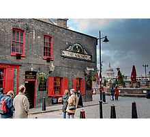 The Anchor Pub: The Southbank, London, UK. Photographic Print