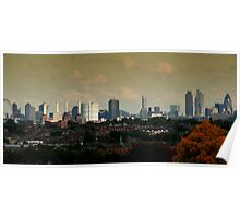 Urban Skyline Poster
