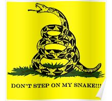 DON'T STEP ON MY SNAKE!!! Poster