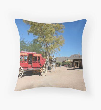 Old Tucson Entry way Throw Pillow