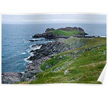 Ferryland Ocean Scene - Newfoundland Canada Poster