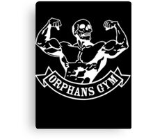 Orphans gym (old father iron) white Canvas Print