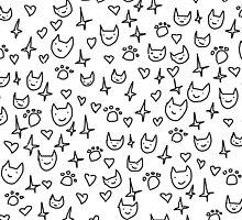 CUTE CATS PATTERN by spiceboy