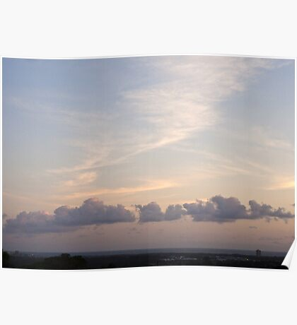 Dreaming of Clouds Poster
