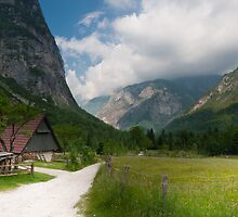 Living in the Mountains. sLOVEnian paradise.  by evimagery