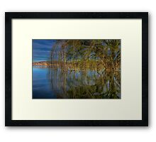 A Side Of Willow Please Framed Print