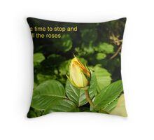 Slow Down Throw Pillow