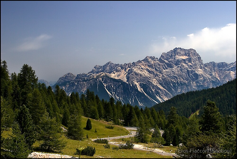 Approaching Cortina Italy by Eros Fiacconi (Sooboy)