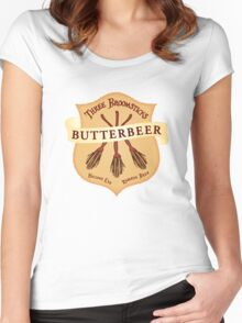 Hallows Eve Reserve Brew Women's Fitted Scoop T-Shirt