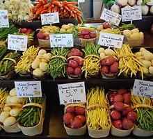 Vegetables in basket by 29Breizh33