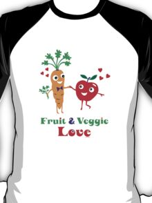 Fruit and Veggie Love T-Shirt