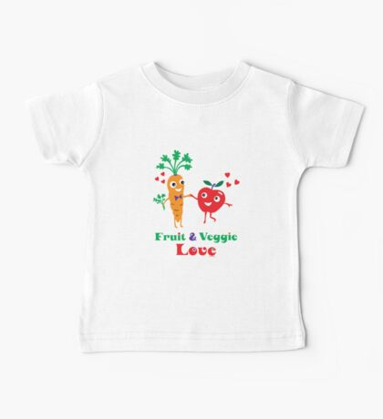 Fruit and Veggie Love Kids Clothes
