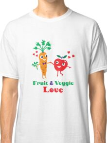 Fruit and Veggie Love Classic T-Shirt