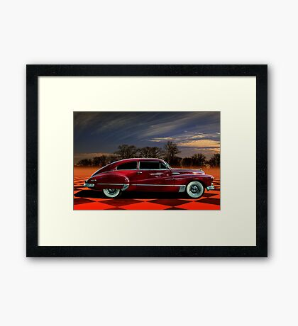 1946 Buick Super Sedanette Coupe Framed Print