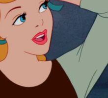 Cinderella Bye Felicia Sticker