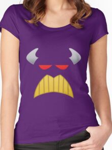 The Evil Emperor Face Women's Fitted Scoop T-Shirt