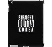 Straight Outta Korea! iPad Case/Skin